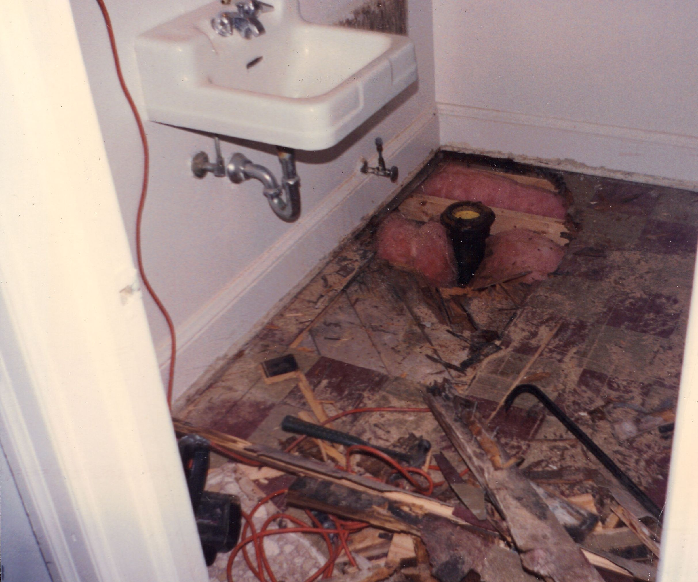 rotten bathroom floor rotted bathroom floor kattermann s handyman 14251